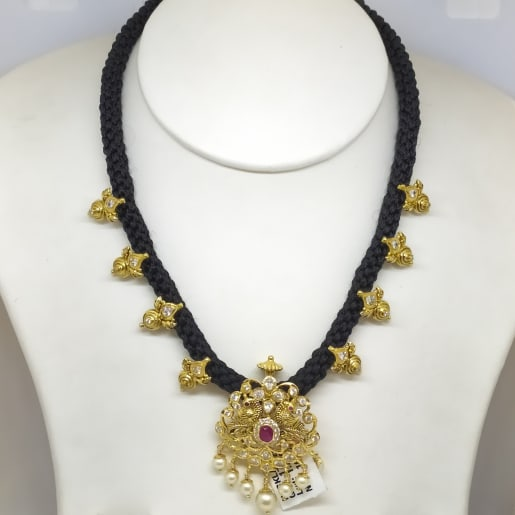 Peacock Cz Necklace Set