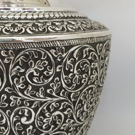 Antique Silver Chambu