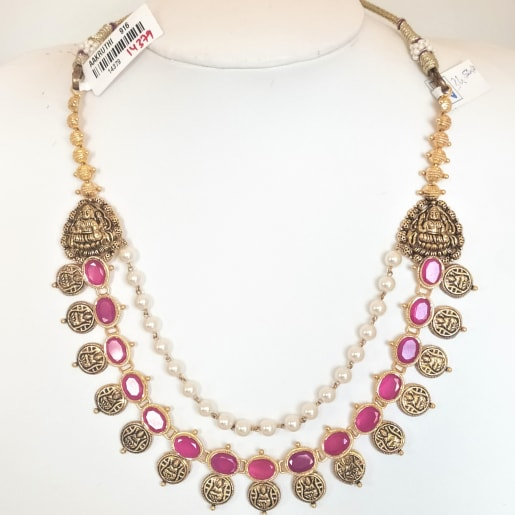 Ruby Antique Necklace