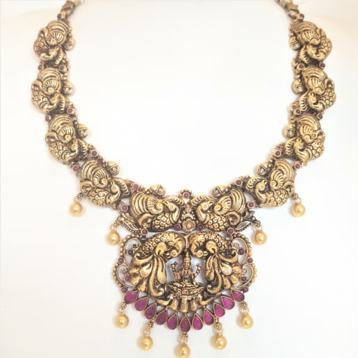 Vasundhara Antique Necklace