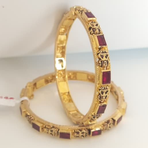 Antique Stone Bangle