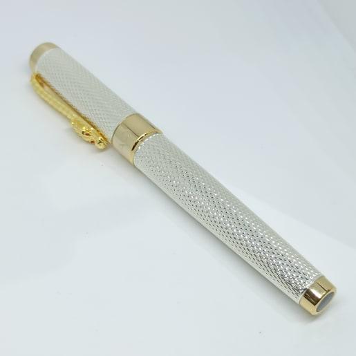 Gold Colour Silver Pen
