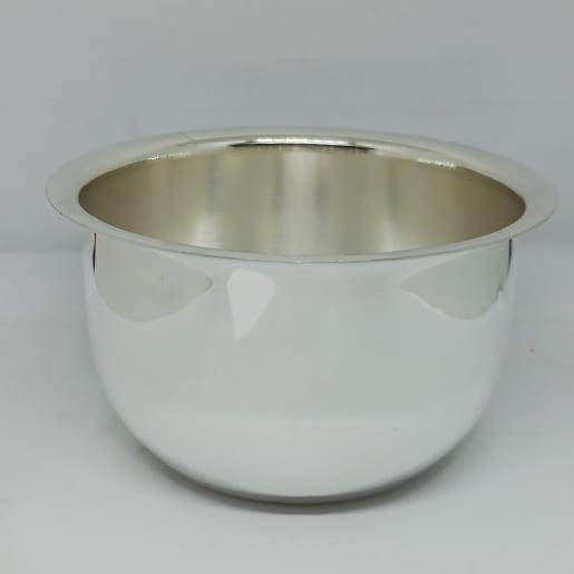 Silver Plain Bowl