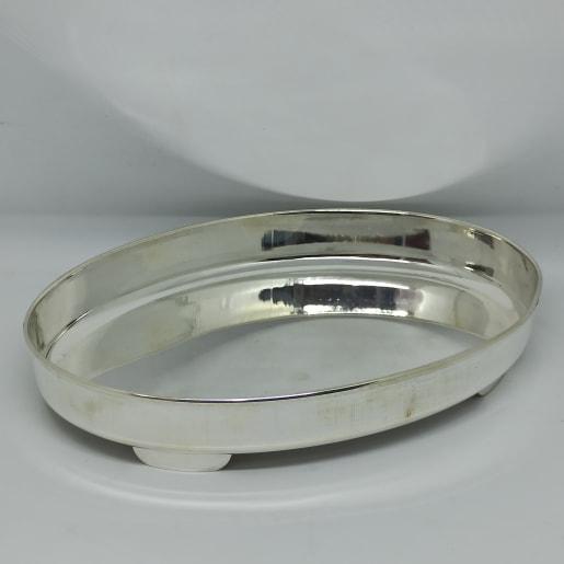 Silver Plain Plates