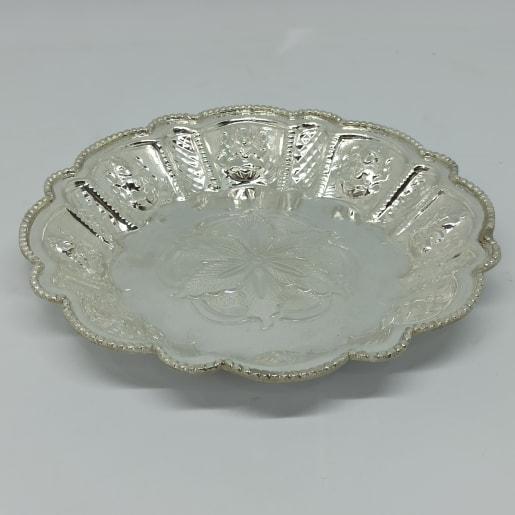 Silver Plain Plate 2