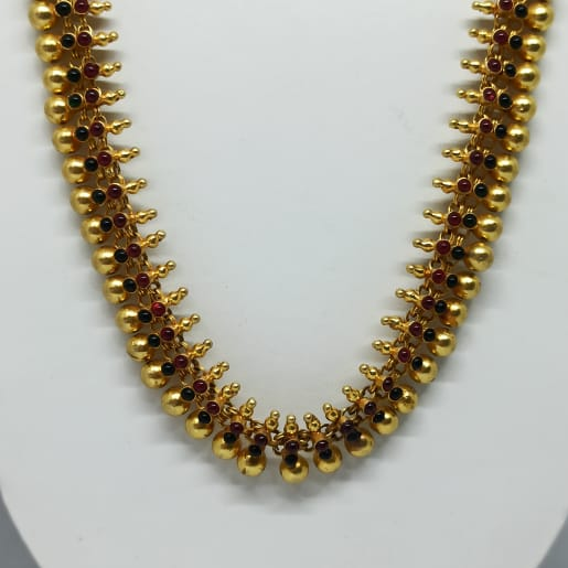 Gundu Silver Necklace