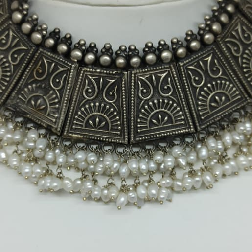 Moti Antique Choker