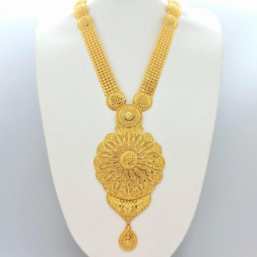 Floral Designer Gold Haram