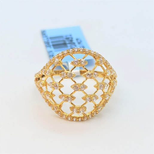 Orient Cz Gold Ring