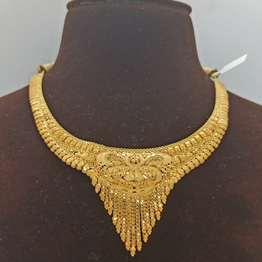 Yellow Gold Traditional Necklace