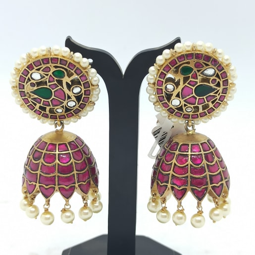 Peacock Kuch Kemp Earrings