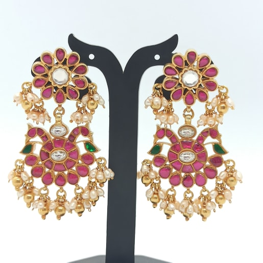 Kuch Kempu Drop Earrings