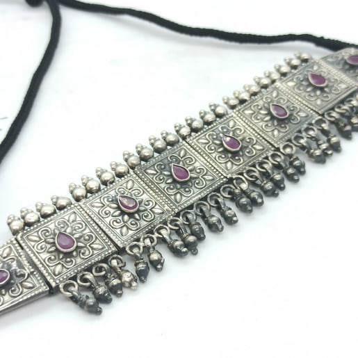 Traditional Oxidized Necklace