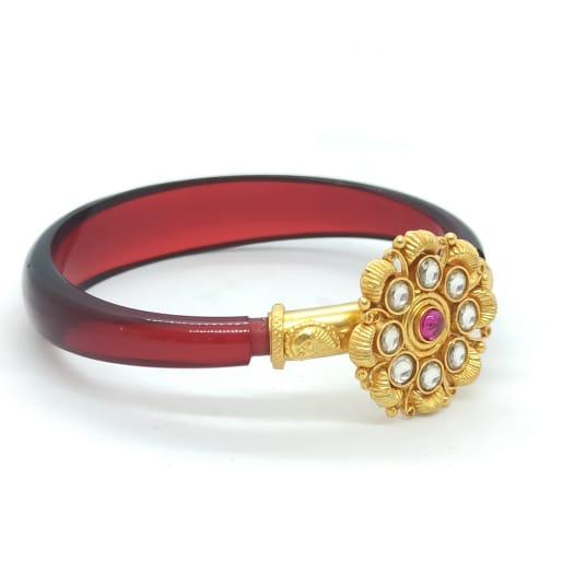 Red Color Traditional Kada