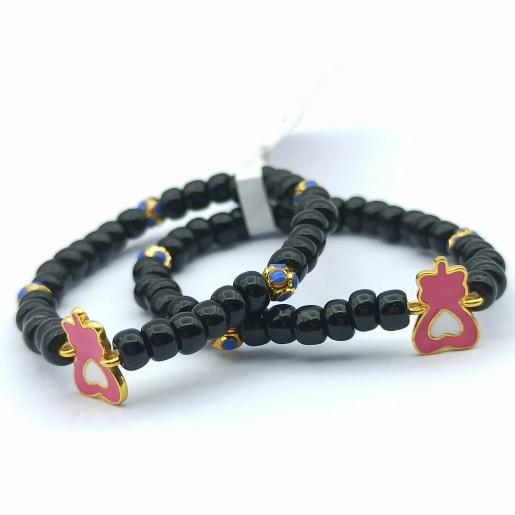Pink Heart Kid Bracelet