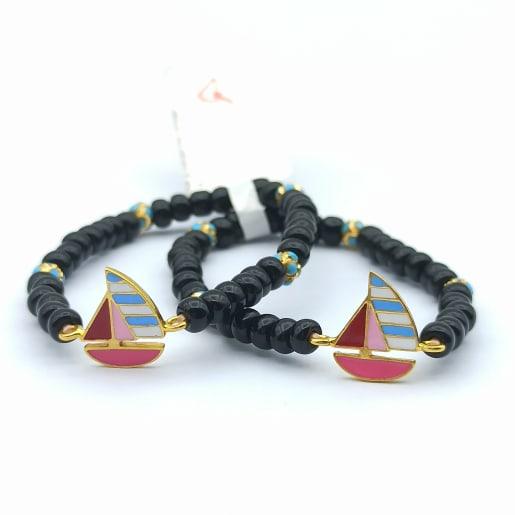 Boat Enamel Kid Bracelet