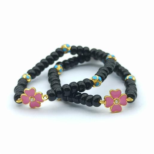 Flower Cz Kid Bracelet