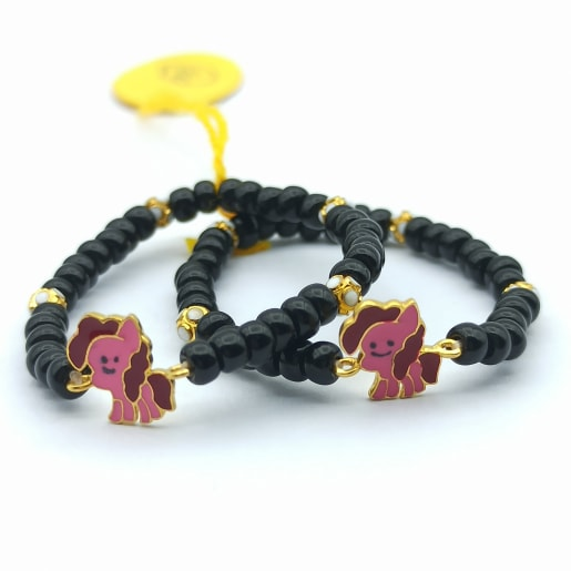Colorful Horse Kid Bracelet