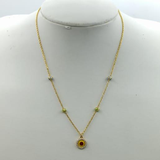 Yellow Cz Chain