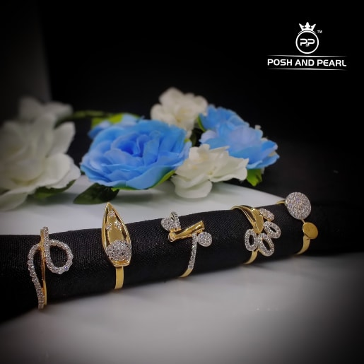 Cubic Zerconia Ring Pp0111