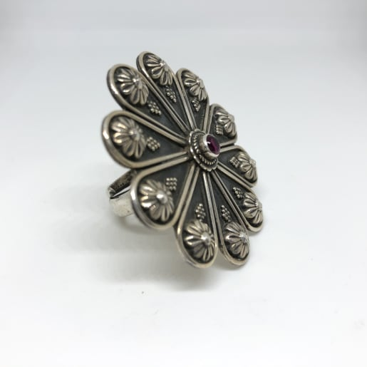 Flower Antique Ring