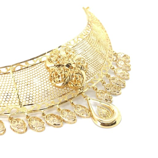 Designer Gold Choker Set