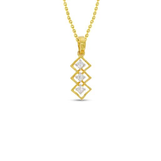 Real Diamond Pendant