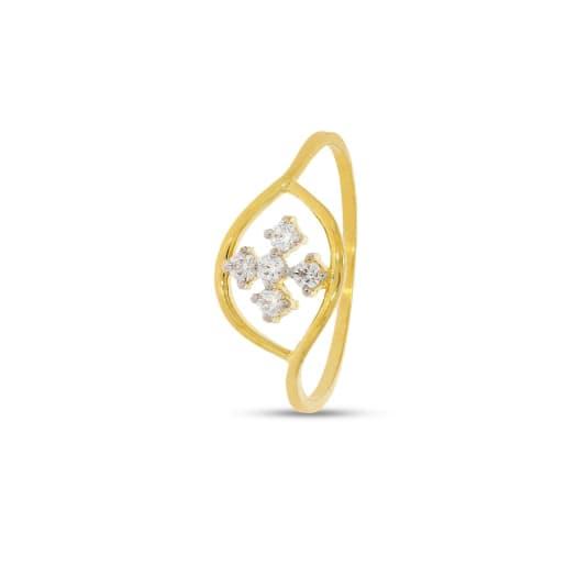 Real Diamond Ring 7