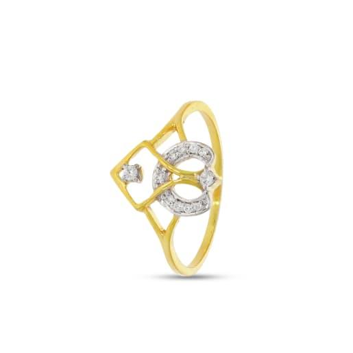 3 Solitaire Diamond Ring