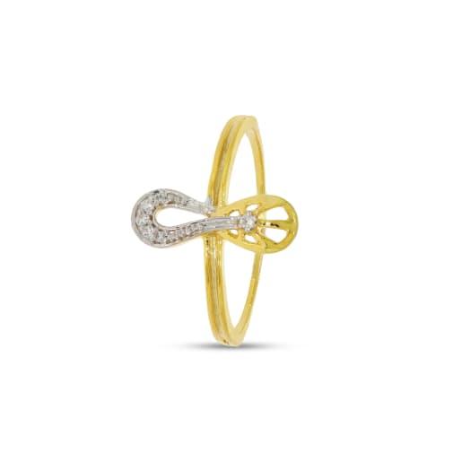 6 Pcs Diamond Ring With Rhodium