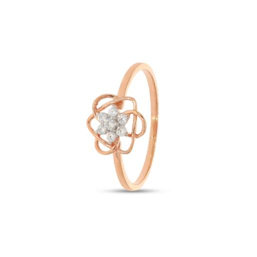 Real Diamond Ring 18