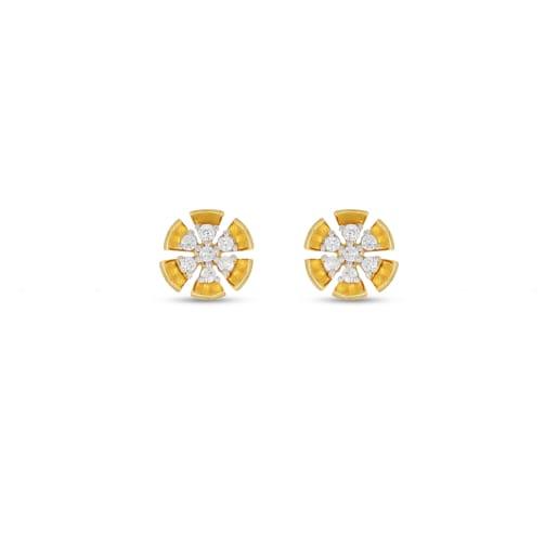 Real Diamond Stud Earing