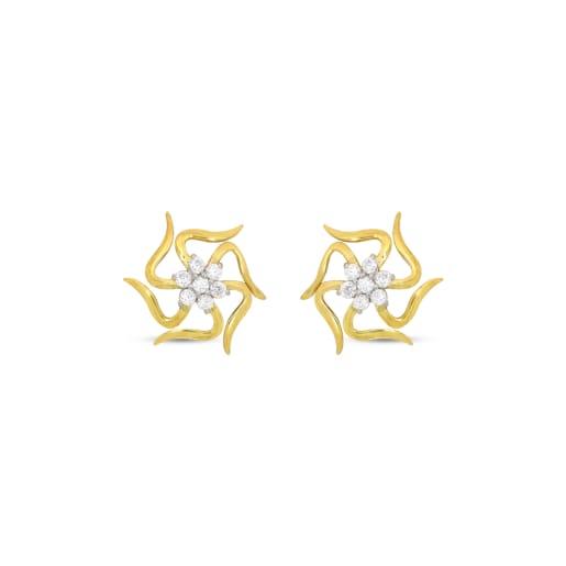 Real Diamond Stud Earing 1
