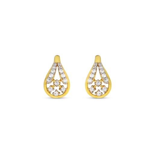 Real Diamond Stud Earring 7