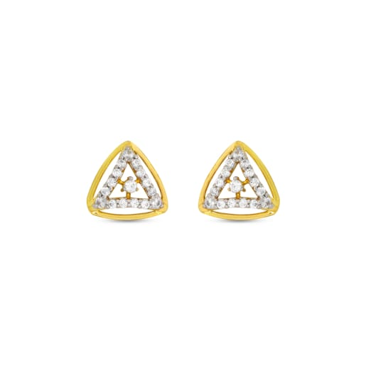 Real Diamond Stud Earring 12