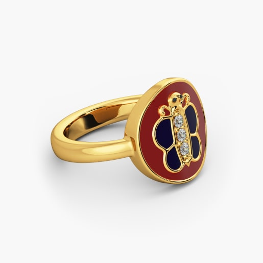 Butterfly Kid Ring