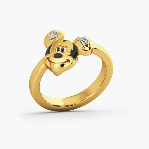 Micky Mouse Kid Ring