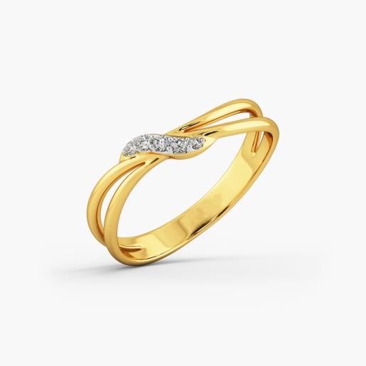 The Sandra Gold Ring For Her
