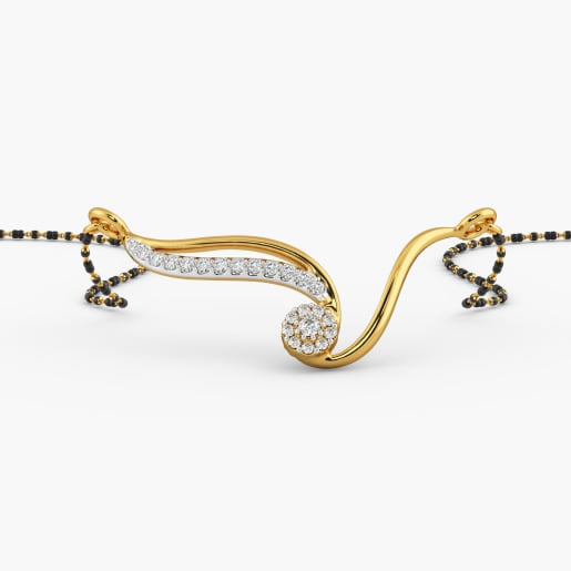 Gold Designer Mangalsutra 2