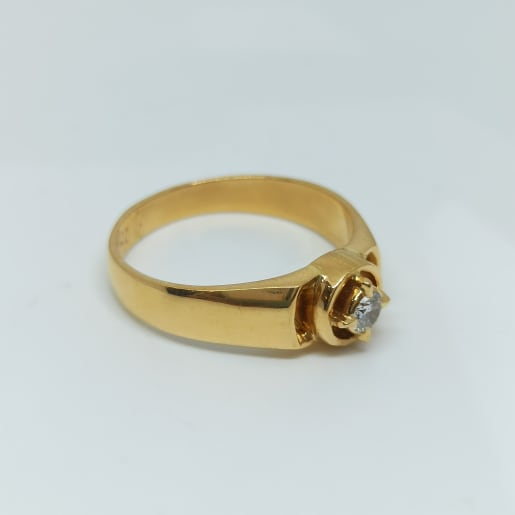 Chowka Diamond Ring
