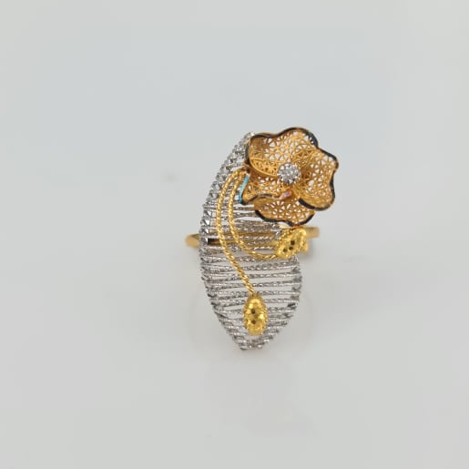Designer Gold Ring 11