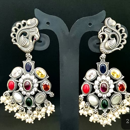 Navratan Ear Ring
