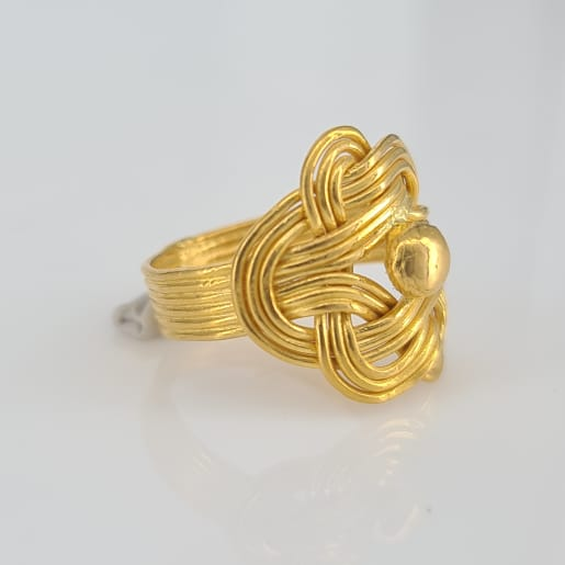 Designer Gold Ring 05