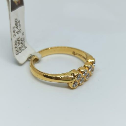 Dot Diamond Ring