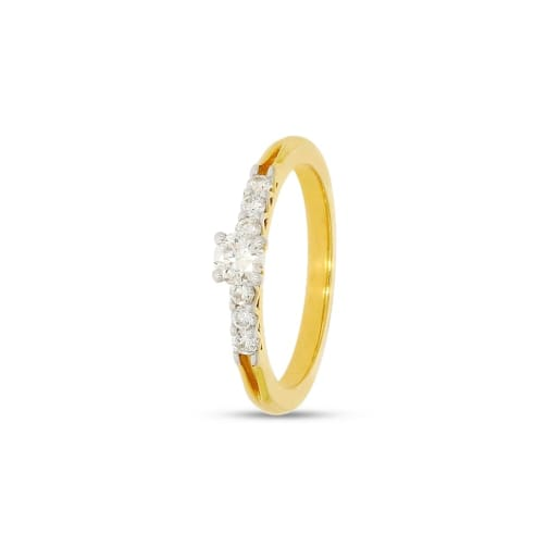 Solitaire Real Diamond Ring