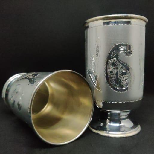Designer Silver Tumblers