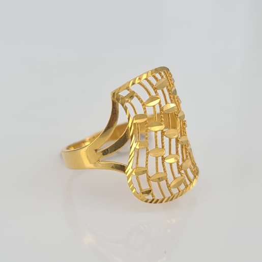 Designer Gold Ring 06