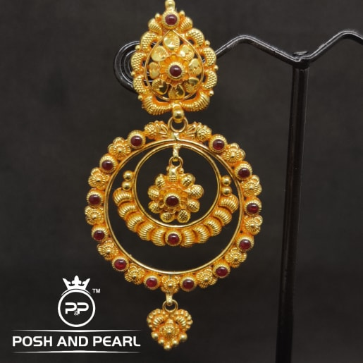 Ruby Step Chandbali