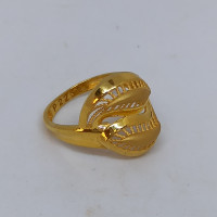 Rope Leaf Ring