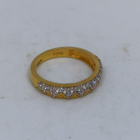 Triant Cz Ring For Her